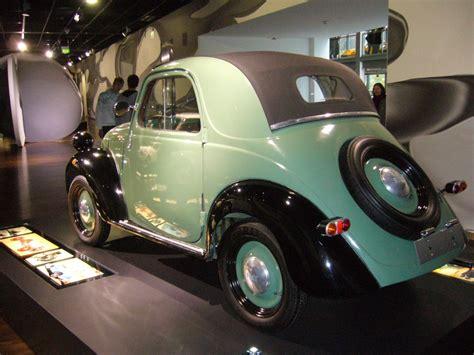 Fiat 500b Topolino Im Zeithaus Der Autostadt Wolfsburg