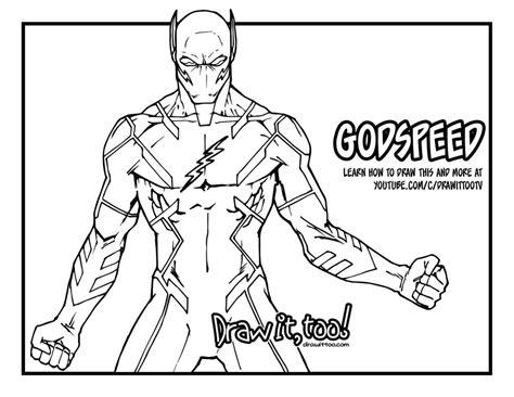 Kleurplaat Overwatch Doomfist by Godspeed The Flash Dc Rebirth Comic Version Draw It