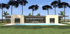 Construction D U0026 39 Une Maison Contemporaine Minimaliste A Mimizan