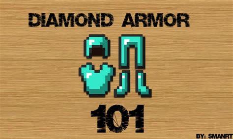 Diamond Armor 101 Minecraft Blog