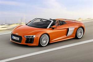 Next generation Audi R8 Spyder rendered