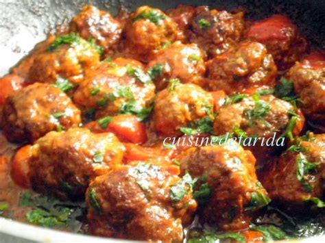 boulettes de viande sauce tomate cuisine italienne boulette de viande à l 39 italienne cuisinedefarida