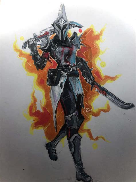 drawing  eternal knight tier  skin penciljaryt