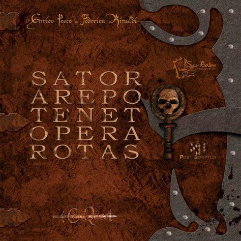 Sator Arepo Tenet Opera Rotas   Gioco da Tavolo (GdT ...