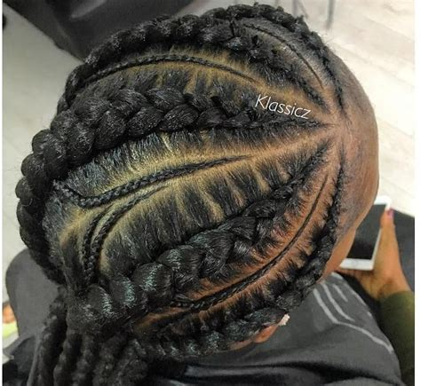 ghana braids updos cornrows jumbo ponytail short