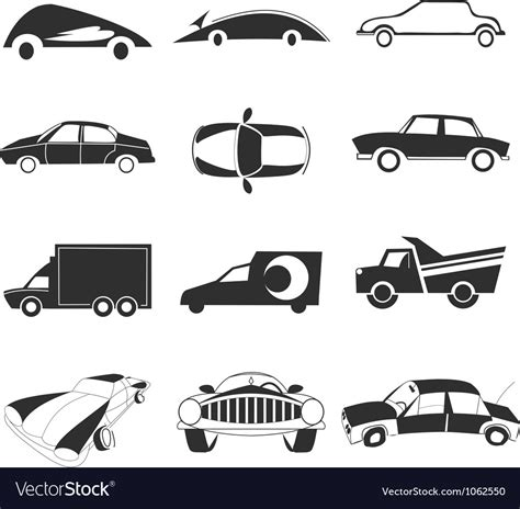 Car Icon Royalty Free Vector Image