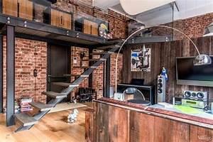 World of Architecture: Industrial Interior Design Idea