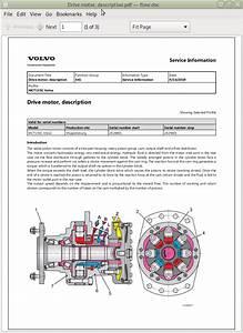 Volvo Skid Steer Loaders Mct135c Repair  U0026 Service Manual