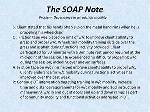 image result for sample occupational therapy soap note With home care physical therapy documentation