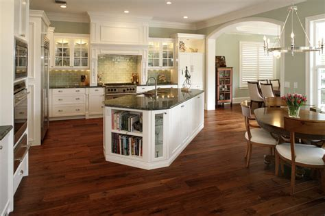 wood flooring for kitchens cape cod traditional kitchen 1574