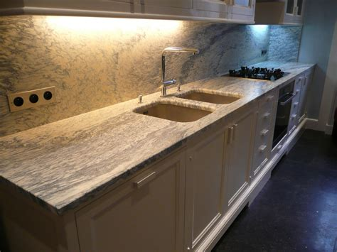cuisine plan de travail marbre plans de travail de cuisine en marbre et granit