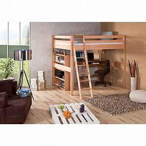 Hochbett 1 40 : hochbett campus buche natur 140 x 200 cm relita mytoys ~ Indierocktalk.com Haus und Dekorationen