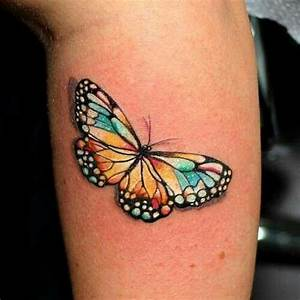 3D Butterfly | Tattoos | Pinterest