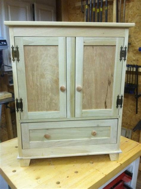 woodwork american girl armoire plans  plans