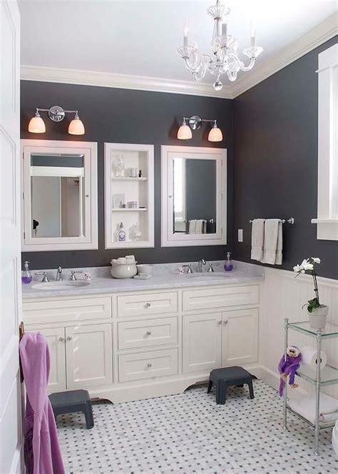 black white purple bathroom white and black bathroom with purple accents bathrooms 17440