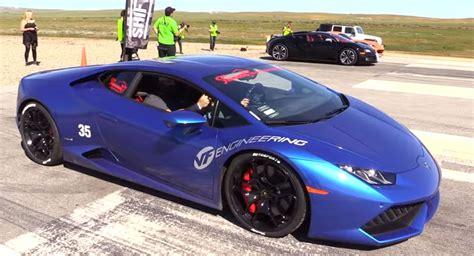 Bugatti Lamborghini by Supercharged Lamborghini Huracans Put Up An Impressive