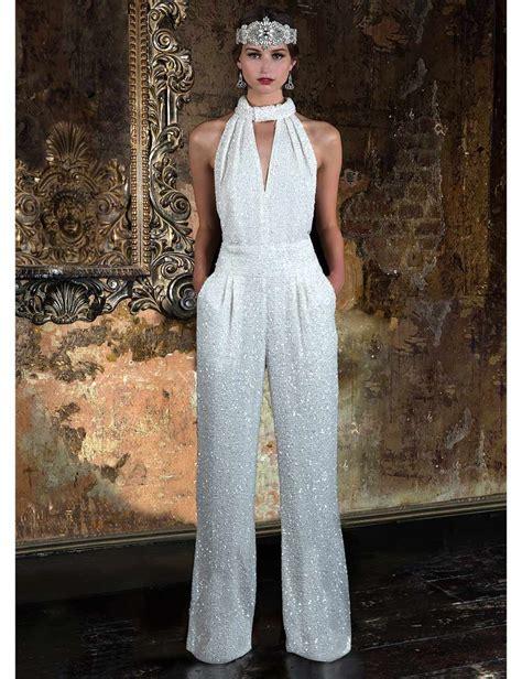 Wedding Jumpsuits That Stylish Brides Will Love Vintage
