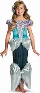 Disney The Little Mermaid Princess Ariel Lame Deluxe ...