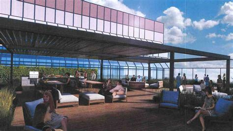 look rooftop patio planned atop one of columbus