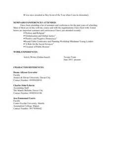eagle scout resume resume