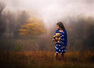 Bear, Childhood, Children, Friends, Friendship, Girl, Hug