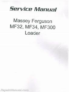 Massey Ferguson Mf32 Service Manual