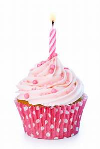 Pink clipart birthday cupcake - Pencil and in color pink ...