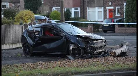 Man Seriously Injured After Car Crashes Into Tree