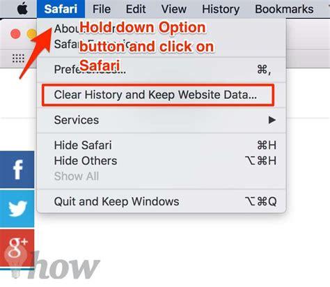 how to delete browsing history on safari on how to clear recent web browsing history in safari for mac