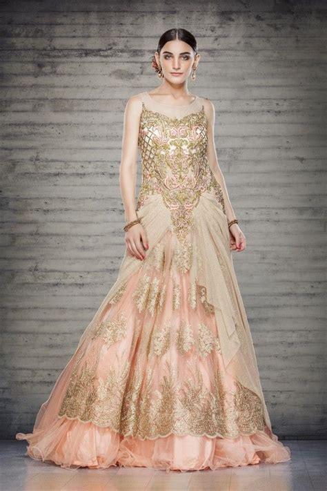 offbeat gowns  indian brides azya raky wedding