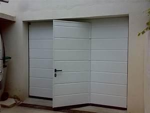 portail horizal jabla portail With porte de garage enroulable avec porte lapeyre pvc