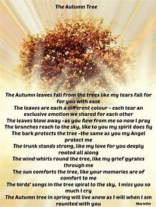 The Autumn Tree... Autumn And Death Quotes