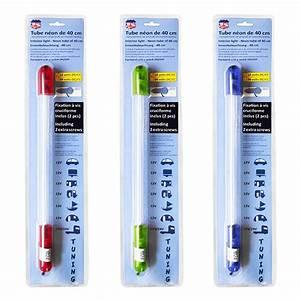 Tube Neon Couleur Deco : neon tube 40cm 12v 3 couleurs newco france ~ Melissatoandfro.com Idées de Décoration