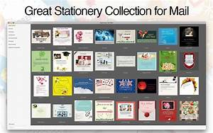 stationery for mail on the mac app store With free mac mail stationery templates