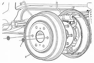 I Do I Remove The Rear Brake Drum From A 2007 Chevy Silverado