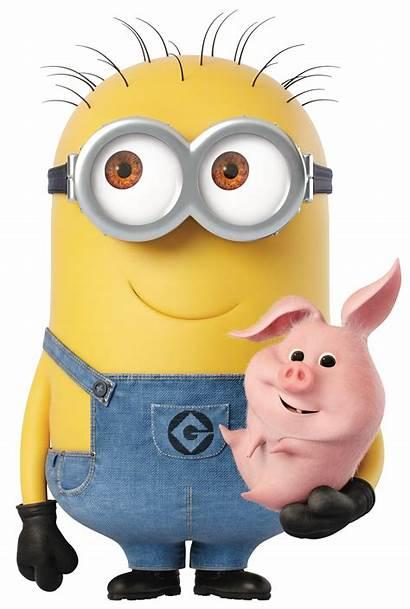 Piggy Minion Transparent Clipart Cartoon Cartoons Yopriceville