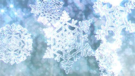big christmas snowflakes loop  stock footage video