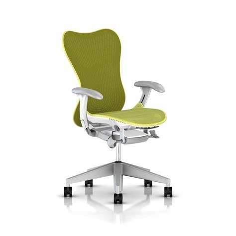 herman miller bureau herman miller lime green mirra 2 chair office furniture