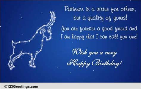 happy birthday capricorn  zodiac ecards greeting cards