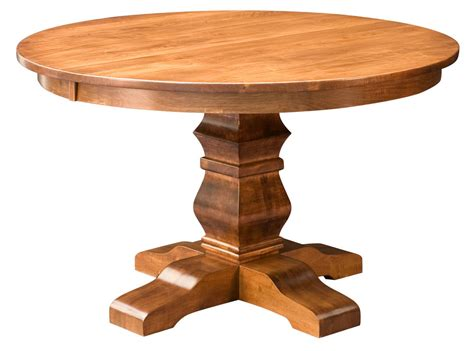 amish solid wood dining table amish round pedestal dining table solid wood rustic