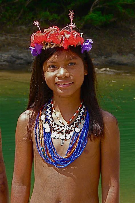 All Sizes Panama Chagres Park Embera Puru Indianen