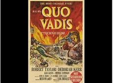 Quo Vadis 1951 Best Picture review YouTube