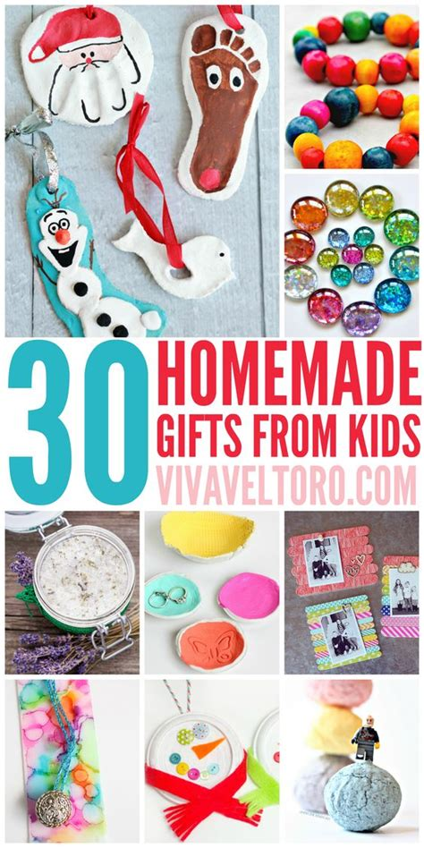 homemade gifts  kids crafts parents  homemade