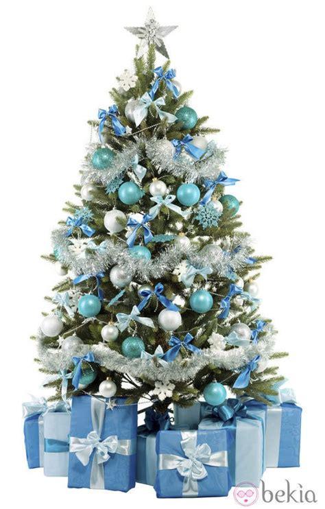 193 rbol de navidad azul y plata 193 rboles de navidad ideas