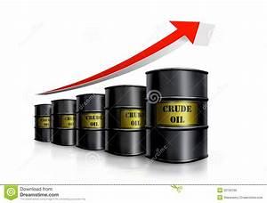 Crude Oil Diagram Royalty Free Stock Photo