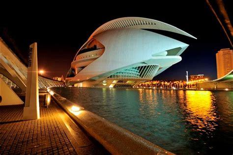 city  arts  science valencia spain calatrava