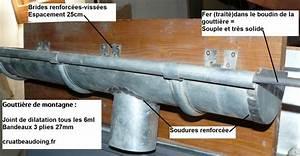 Joint De Dilatation Béton Tous Les Combien : pose gouttiere de montagne gouttieres en zinc ~ Nature-et-papiers.com Idées de Décoration