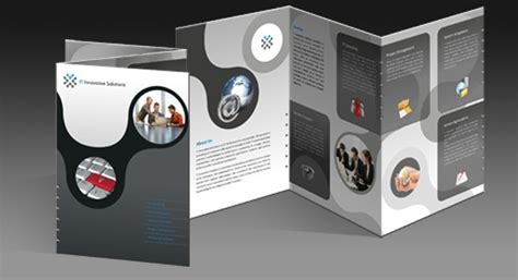 fold brochure design  clinical laboratories product