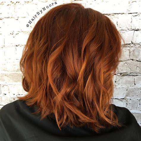 bob hair color 40 fresh trendy ideas for copper hair color hair ideas