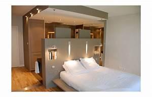 Dressing Derrière Tete De Lit : creation d 39 une salle d 39 eau dovy elmalan transformation ~ Premium-room.com Idées de Décoration
